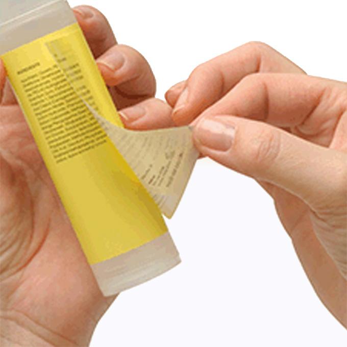 буклет етикети