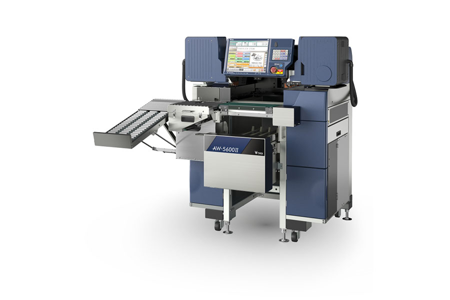 автоматична машина за опаковане,претегляне и етикиране AW-5600 II AT