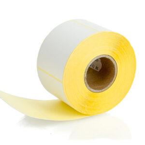 Етикети за термодиректен печат Thermal top, бели, с размер 5872,5 mm, на ролка от 600 броя