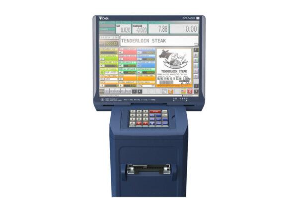 Претегляща система с принтер за предварително опаковани продукти DPS-5600 II