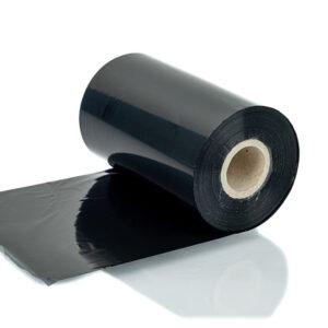Термотрансферна лента восъчна черна 110мм360м